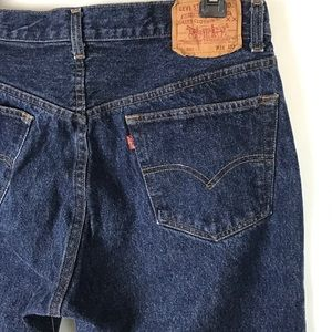 Vintage Levi's 501 Button Fly Straight Cut Jeans